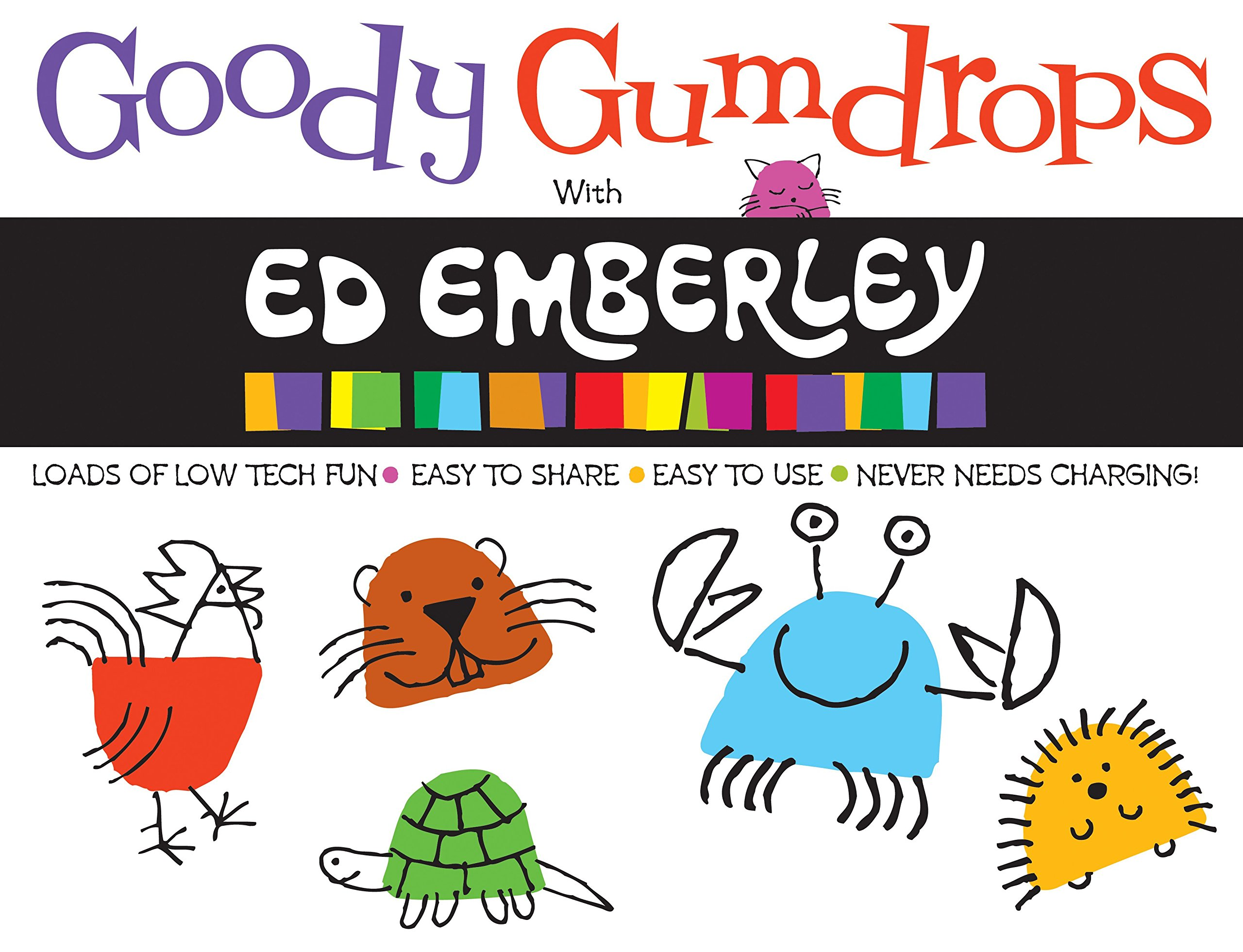 Download Goody Gumdrops with Ed Emberley (Ed Emberley On The Go!) pdf epub