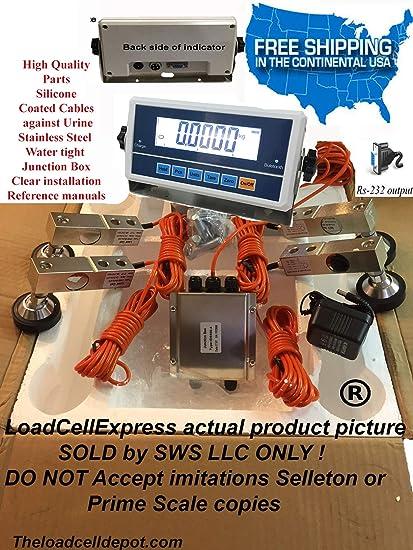 Amazon.com: Kit de báscula de ganado HS-520 para calabaza de ...