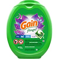 192 Count Gain Flings Laundry Detergent Soap Pacs High Efficiency