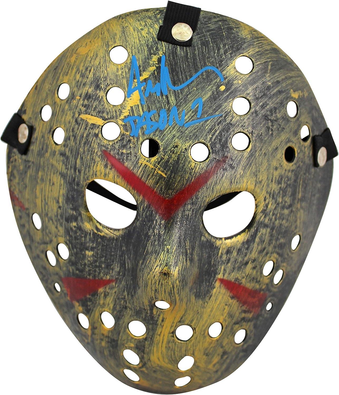 Ari Lehman Autographed//Signed Friday The 13th Silver Mask Jason JSA
