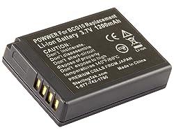 STK DMW-BCG10PP Battery for Panasonic Lumix DMC-ZS19, DMC-ZS20, DMC-ZS25, DMC-ZS8, DMC-ZS7, DMC-ZS3, DMC-ZS10, DMC-ZS5, DMC-ZS15, DMC-ZS1, DMC-ZS6, DMC-TZ30, DMC-ZR1 DMC-TZ10 DMC-TZ7 DMC-ZR3, DMC-TZ25