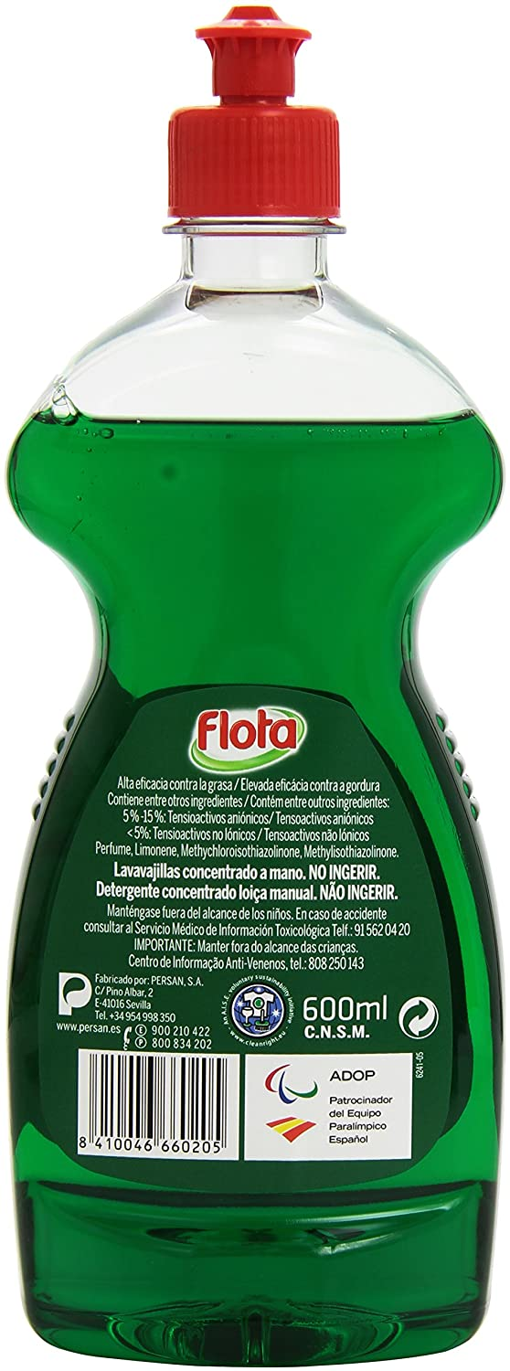 Flota - Ultra - Lavavajillas concentrado - 600 ml: Amazon.es ...