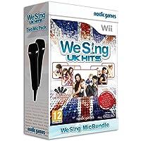 Nintendo Wii We Sing Uk Hits Oyun + 2 Mikrofon - NINTENDO