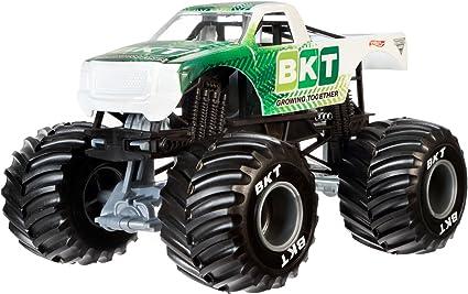 Amazon Com Hot Wheels Monster Jam Sponsor Vehicle 1 24 Scale Toys Games