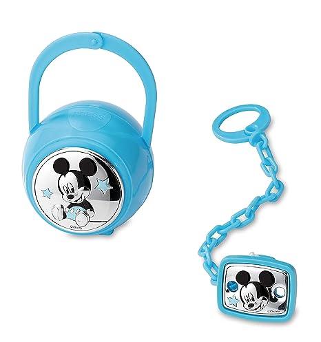 Disney Baby - Mickey Mouse - Clip para chupete con cadena y ...