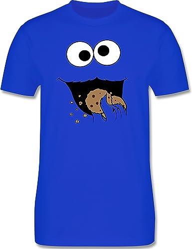 Shirtracer Cookie Monster Monstruo Galletas Camiseta Hombre ...