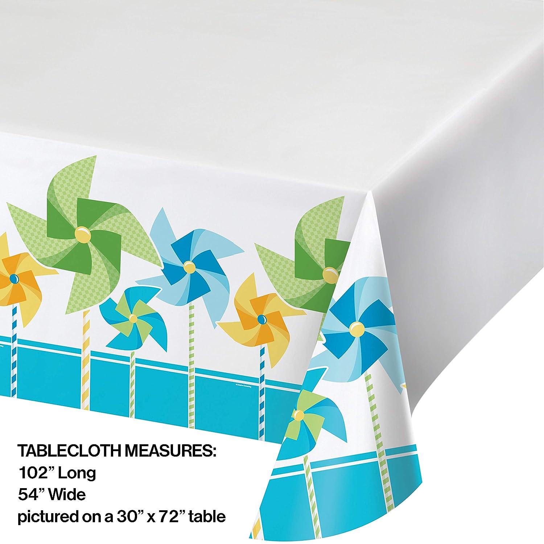Creative Converting Turning uno - Boy mantel de plástico con ...
