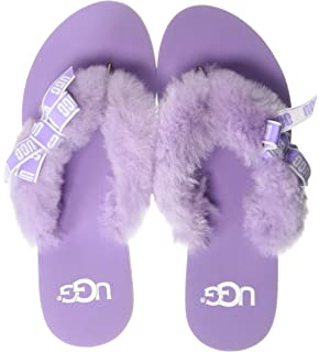 2b36b1fe7cc Amazon.com | UGG Women's Poppy Flat Sandal | Flats