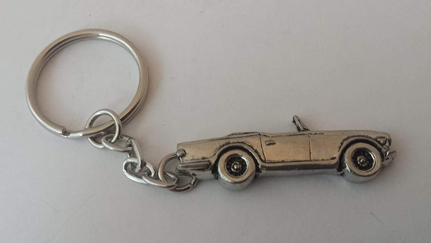 Triumph Tr6 3d Split Ring Keyring Made From Fine English Pewter