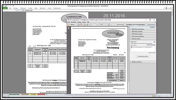 Rechnungsprogramm Für Hotelgewerbe Hotel Fehrienwohnung Motel Hostel