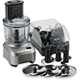 Breville BFP800XL Sous Chef Food Processor features Numerous Slicing, Dicing, Chopping & Kneading Options w/ 25-year Manufacturer's Warranty on Induction Motor