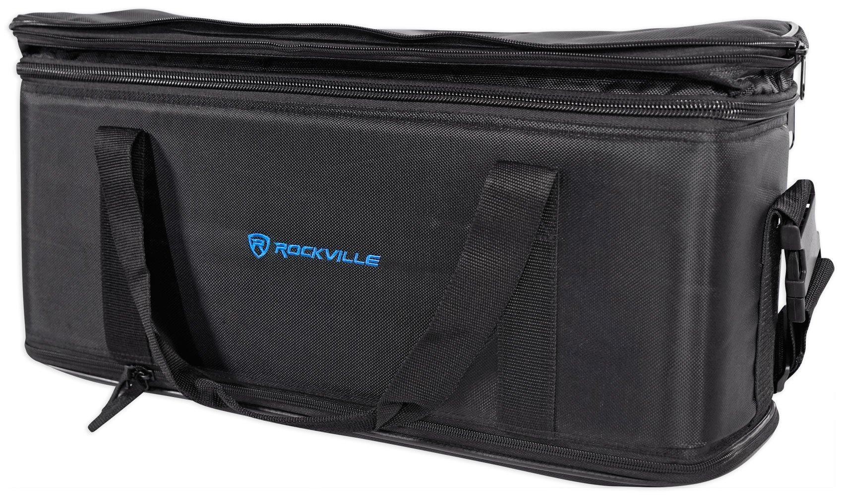 Rockville 3U Rack Bag Double-Sided Case with 12'' Depth + Shoulder Strap (RRB30) by Rockville (Image #3)