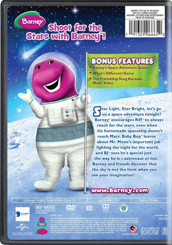 Amazon.com: Barney: Lets Go to the Moon: Carey Stinson ...