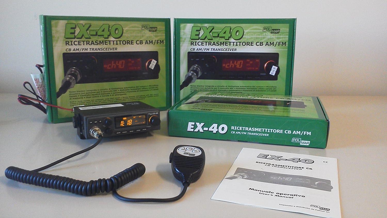 Schemi Elettrici Radio Cb : Polmar ex ricetrasmettitore cb veicolare versione export ch