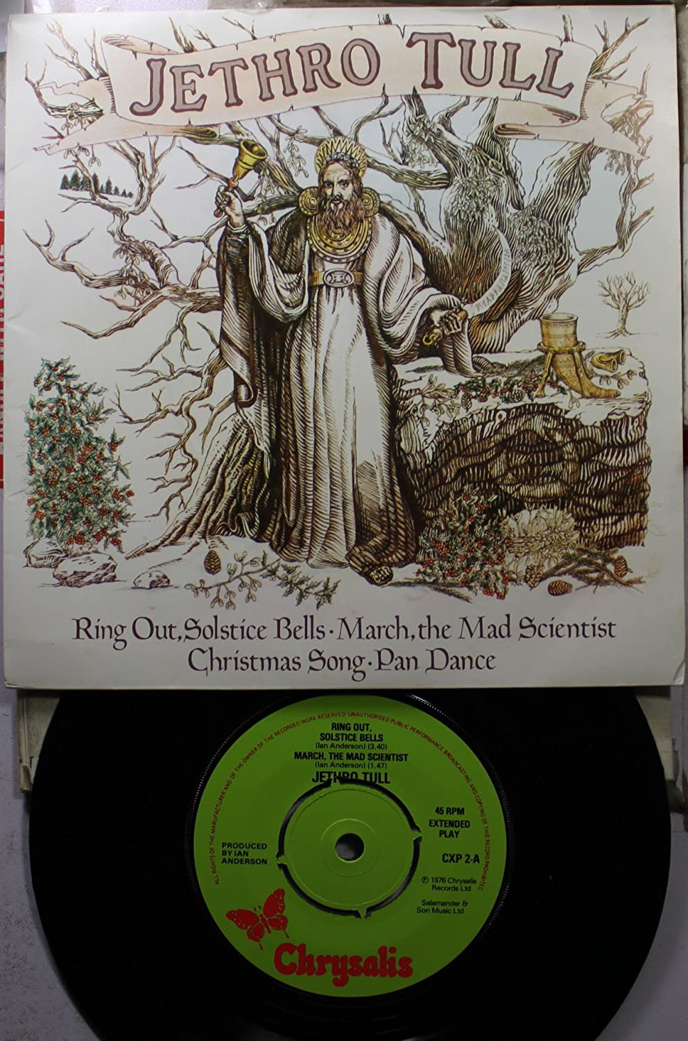 Jethro Tull 45 RPM Ring Out, Solstice Bells / March, The Mad ...