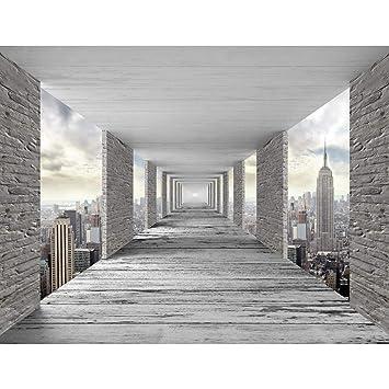 Fototapeten 3d New York 352 X 250 Cm Vlies Wand Tapete Wohnzimmer