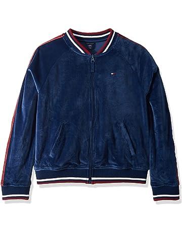 1e354961c Tommy Hilfiger Girls' Fleece Varsity Jacket