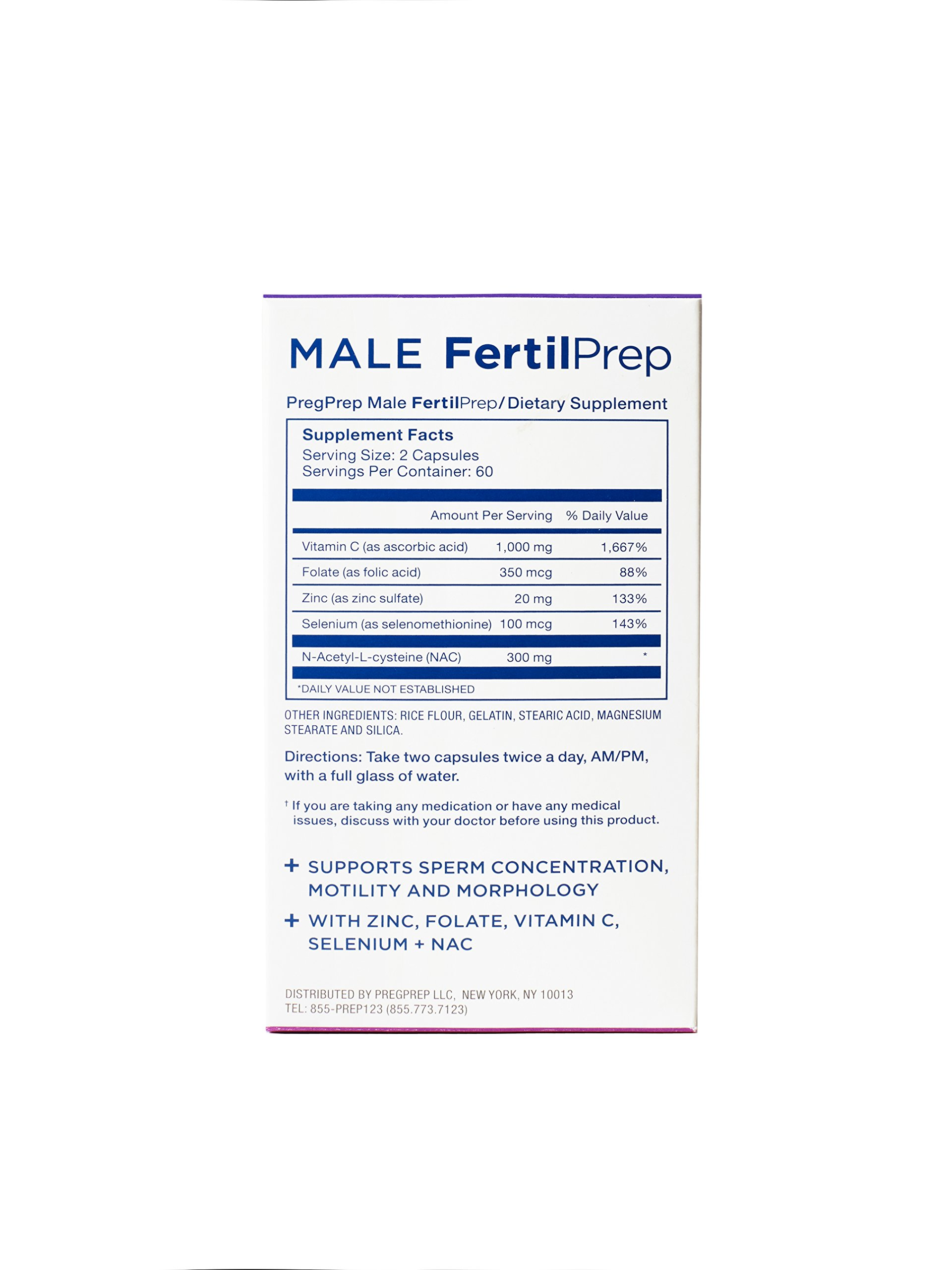 PregPrep Complete Conception + Male FertilPrep: Fertility Supplements for Women and Men by PregPrep (Image #7)