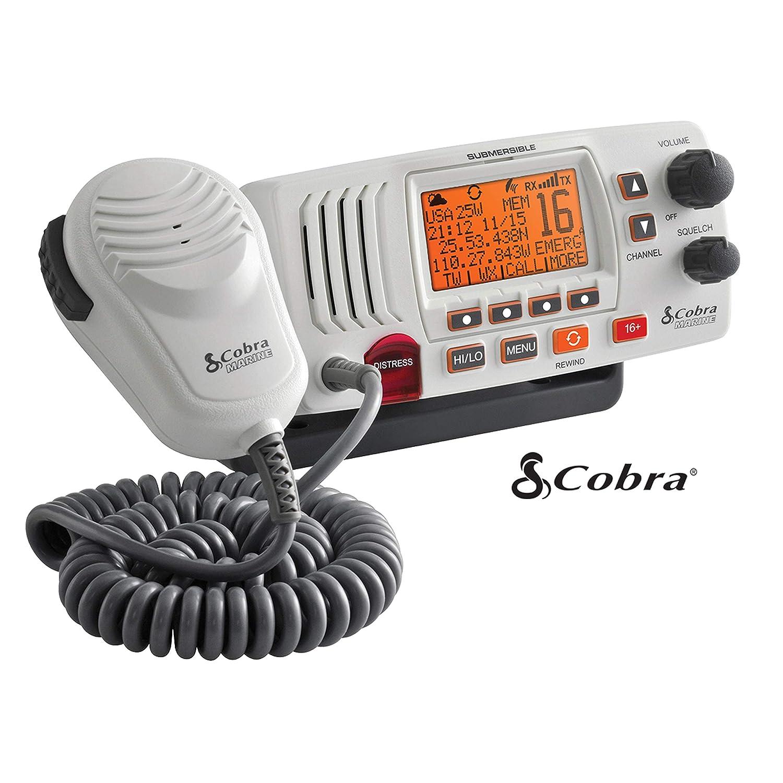 Cobra Electronics Corporation 4 Cobra Electronics MR F57W Radio Marine VHF Mr-F57W White China