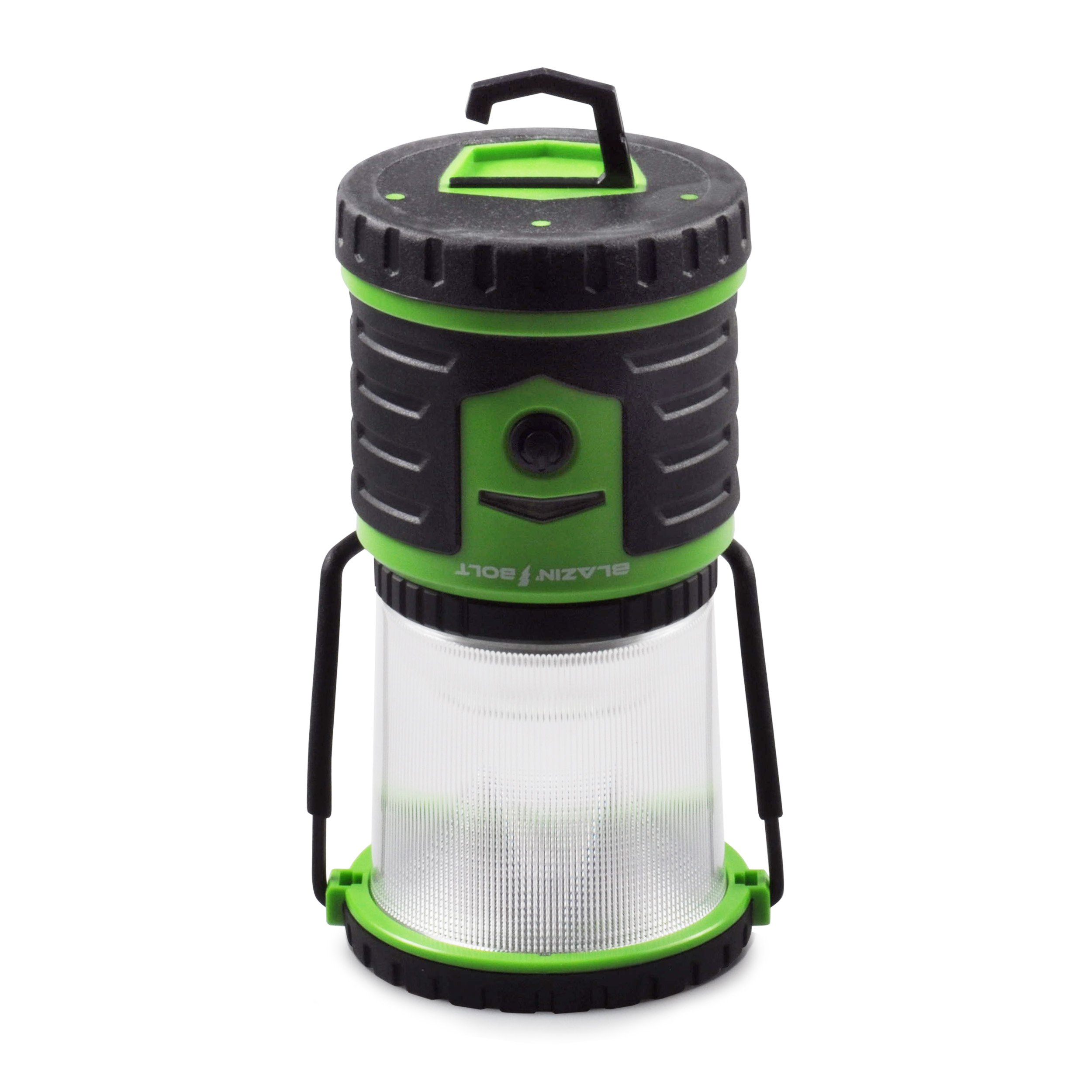 Blazin' Bison Brightest Rechargeable LED Lantern | 400 Hour Runtime | Phone Charger | Hurricane, Emergency, Storm (400 Lumen, Green) by Blazin' Bison (Image #5)