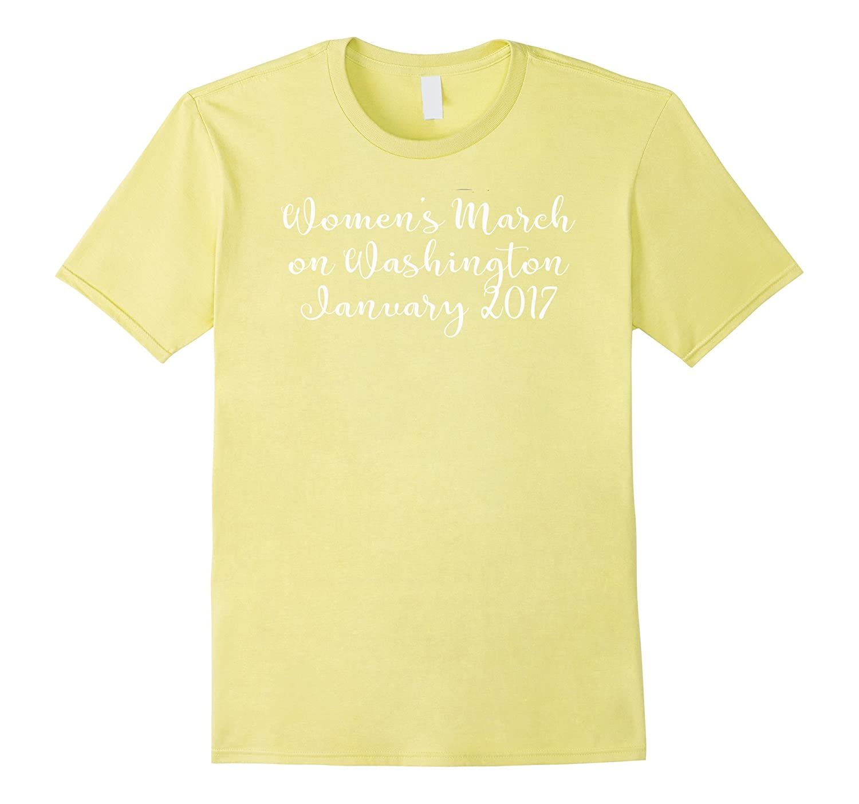 Million Women March On Washington T Shirt-Art