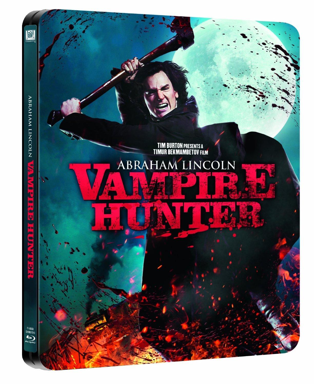 Amazon Com Abraham Lincoln Vampire Hunter Limited Edition Steelbook Blu Ray Movies Tv