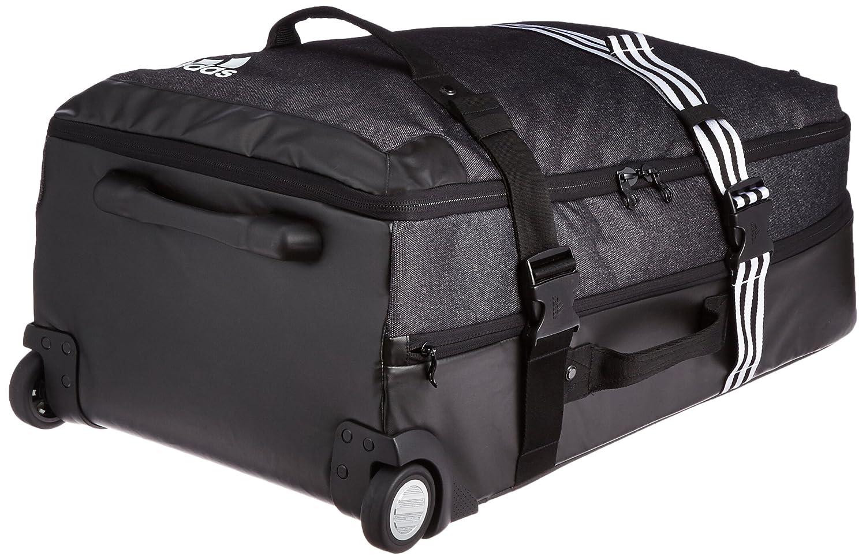 b5f1b6ba58 adidas Team Travel Grand Format Sac à roulettes Mixte Adulte, Noir/Blanc,  Taille XL: Amazon.fr: Sports et Loisirs