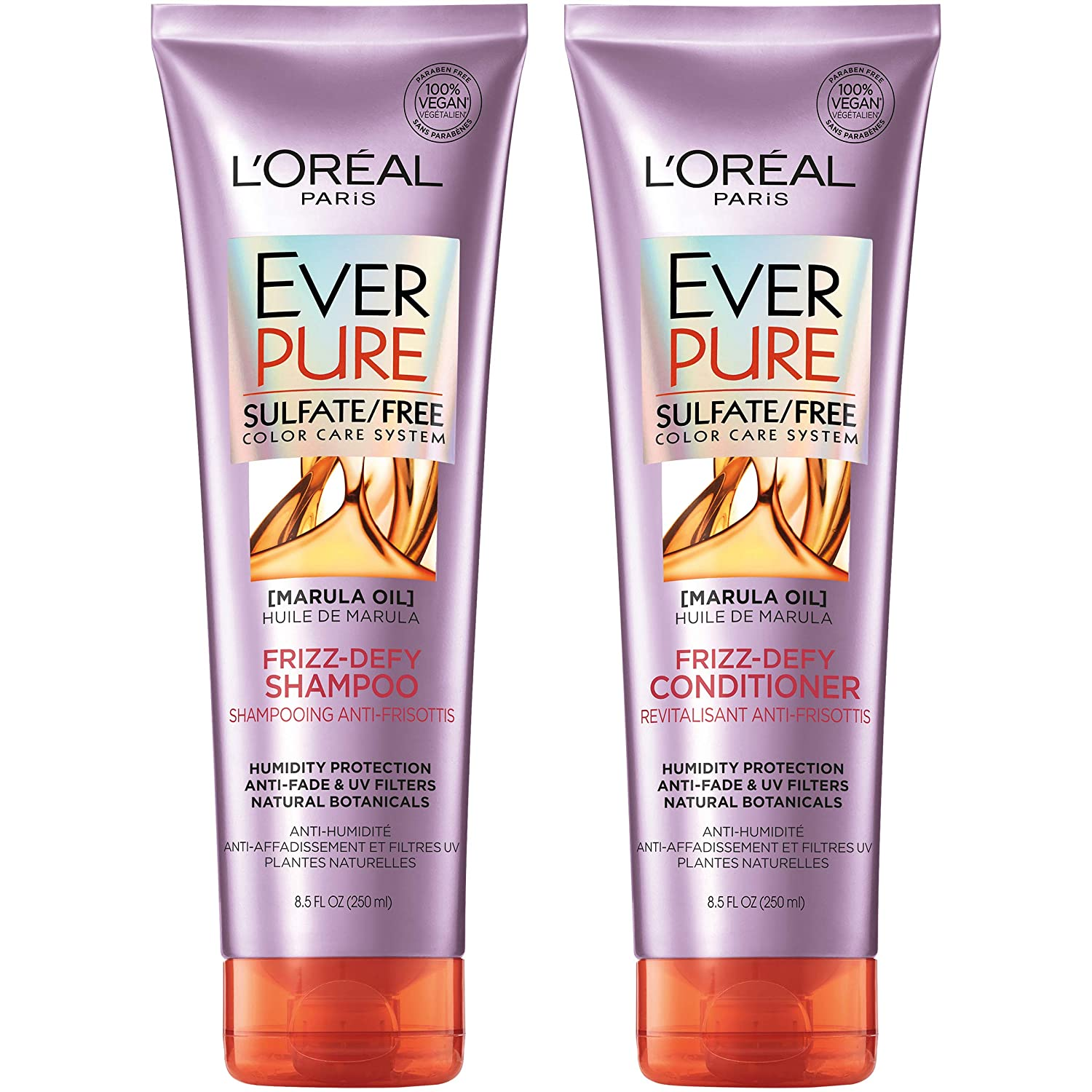 L'oreal Paris Best Hair Straightening Shampoo And Conditioner