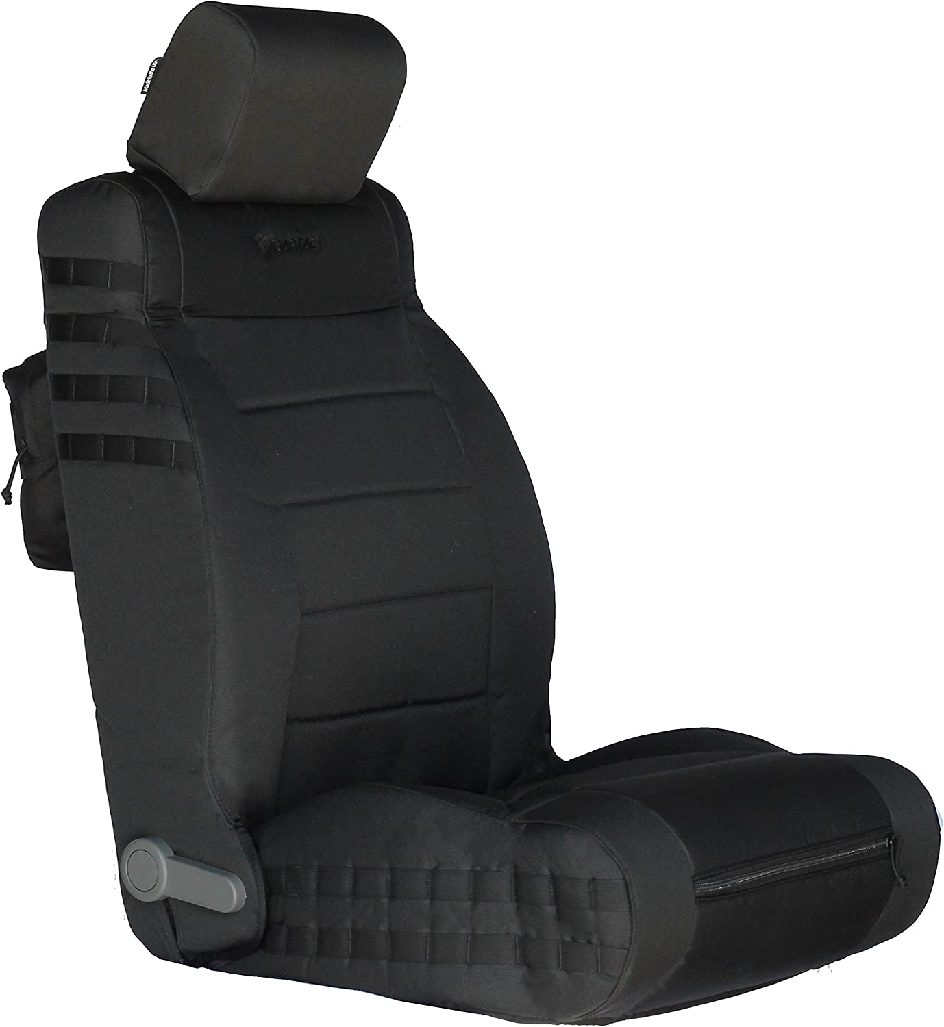 Bartact BTJKSC1112FPBB Black//Black Mil-Spec with MOLLE System Front Seat Covers 2011-2012 Jeep Wrangler JK Pair