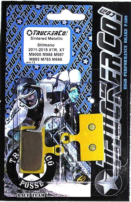 Truckerco Sintered Metallic Brake Pads Shimano 2011-2020 XTR XT SLX deore  M9020 Trail M9000 Race M987 M985 M988 M785 RS785 R785 S700 RS685 M675 M666