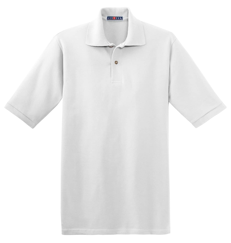 Jerzees Mens 6.5 oz Cotton Pique Polo 440