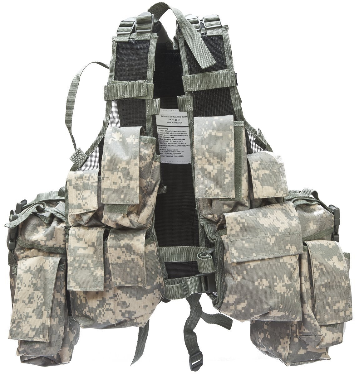 how to use a tactical vest