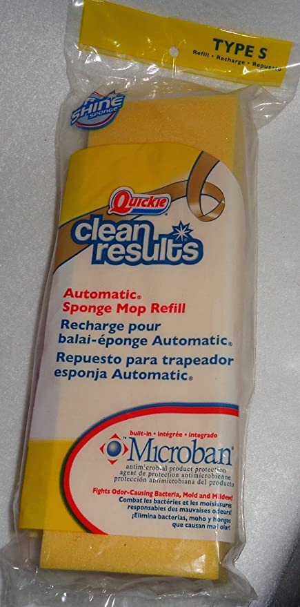 Quickie Clean Results Sponge Mop Refill