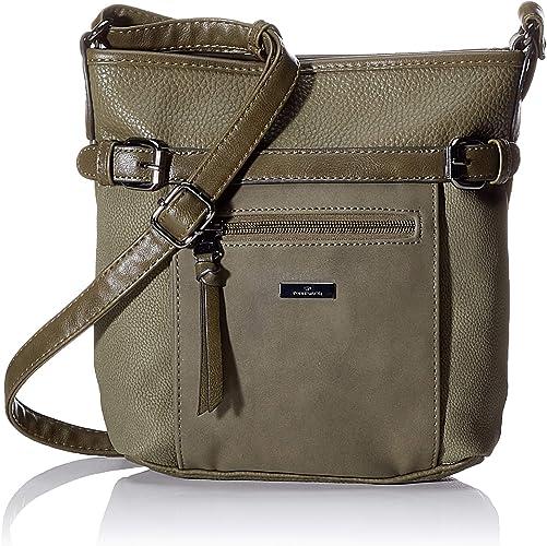 TOM TAILOR Umhängetasche Damen Juna Flash, 26x24x7.5 cm, TOM TAILOR Handtaschen, Taschen für Damen, klein