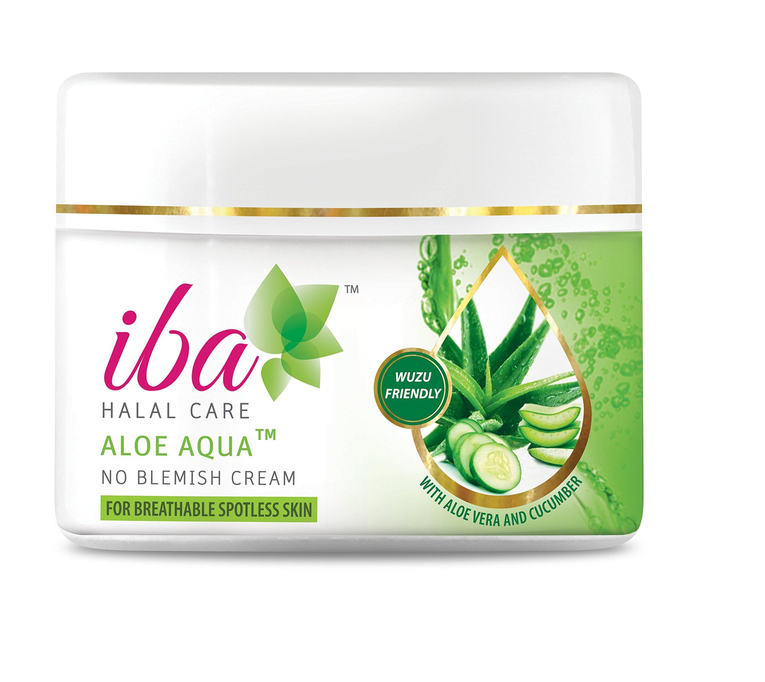 Iba Halal Care Aloe Aqua No Blemish Cream, 50g
