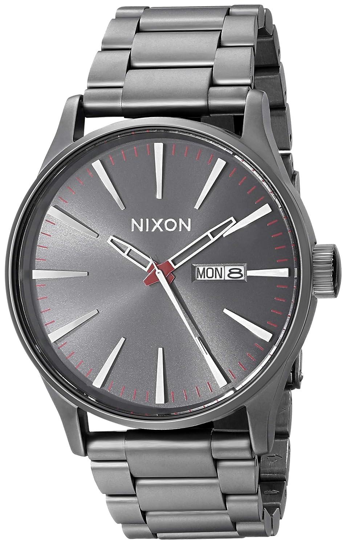13144725167 Nixon sentry gunmetal stainless steel mens watch a nixon watches jpg  953x1500 Old nixon watches