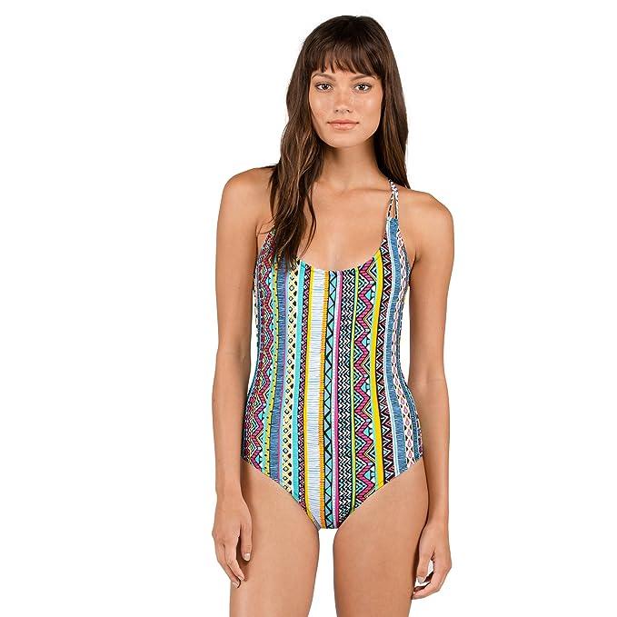 Amazon.com: Volcom Locals una pieza traje de baño de la ...