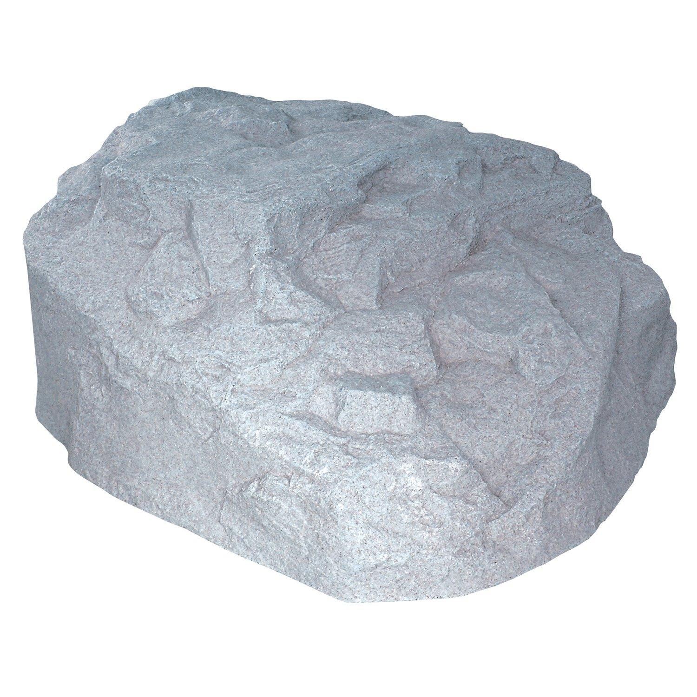 EMSCO Group Landscape Rock – Natural Granite Appearance – Low Profile Boulder – Lightweight – Easy to Install