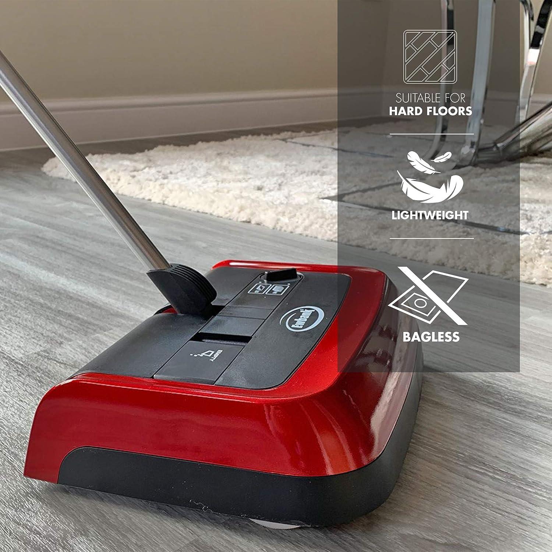 Ewbank Léger Silencieux Manuel Vitesse Carpet Floor SWEEPER Nettoyant Pratique Noir