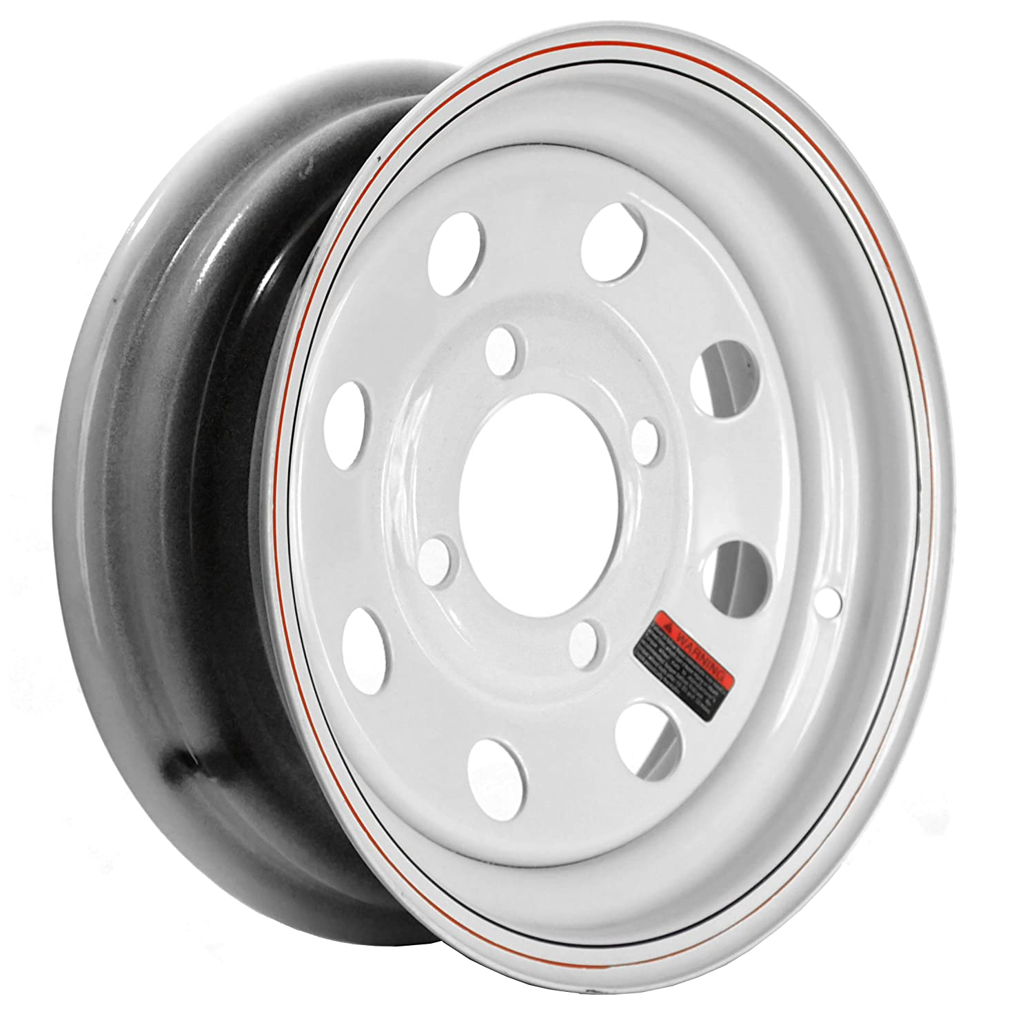 Martin Wheel R-124-MM 4-Hole Steel Mod Trailer Wheel (12x4' / 4x4')