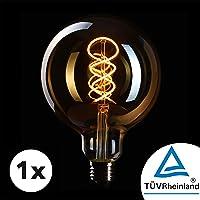 Bombilla Edison Crown LED base E27   Regulable