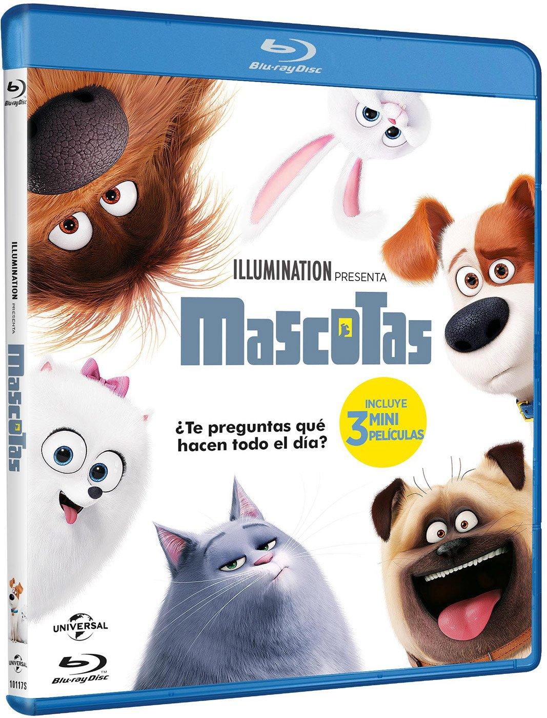 Mascotas Blu-Ray