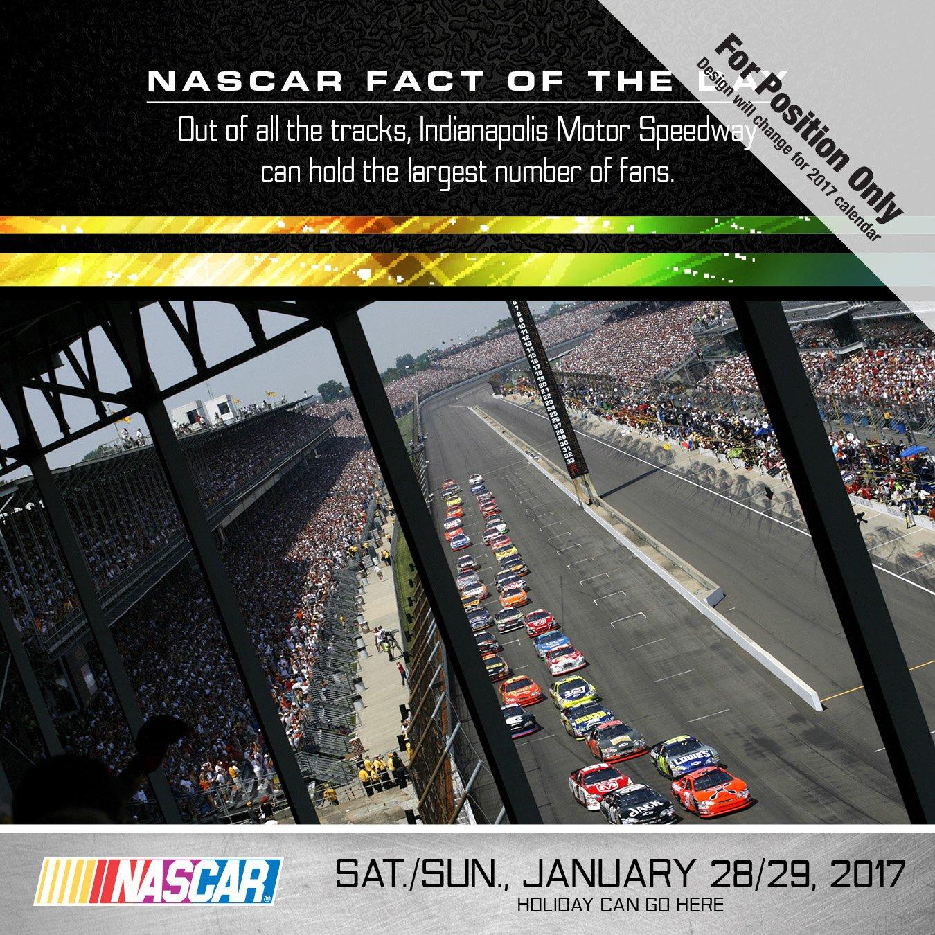 2017 NASCAR Facts Daily Desktop Calendar: Nascar: 9781624388002:  Amazon.com: Books