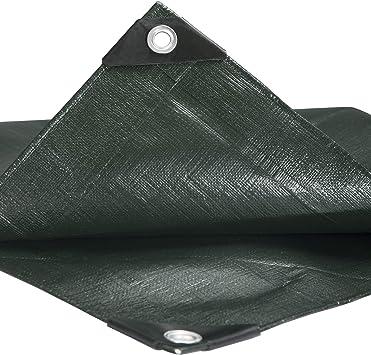 HOLISTAR Lona Impermeable de Protecci/ón Exterior 4x8m Resistente al Agua y a los Rayos UV 180g//m/² Blanco
