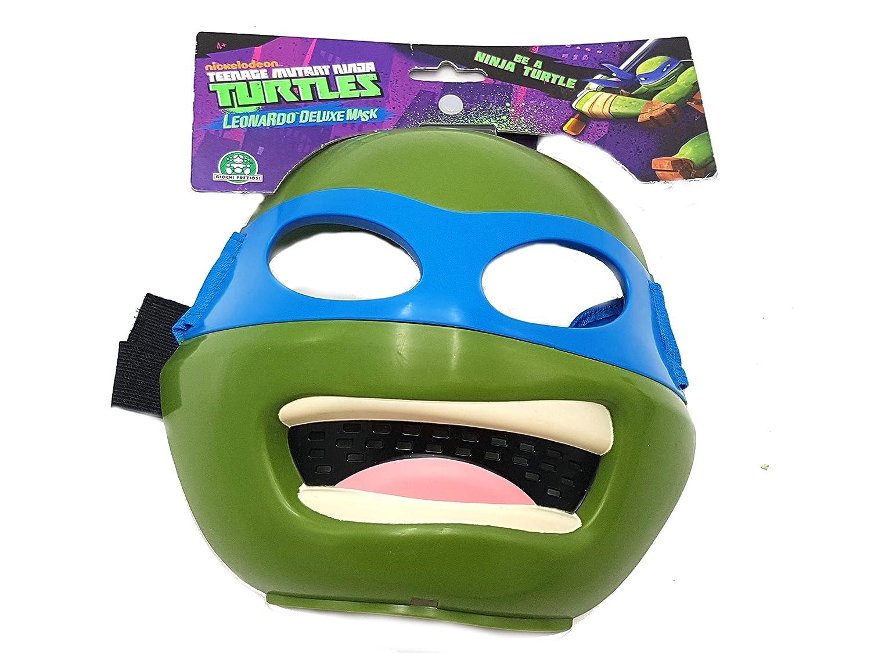 Máscara Leonardo Tortugas Tortuga Ninja disfraz de carnaval ...