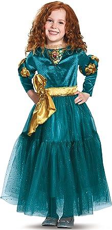 Amazon.com: Disfraz Disguise de la princesa Merida, premium ...