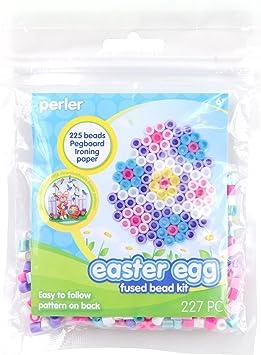 227 pcs Perler Beads Easter Basket Activity Kit Easter Crafts for Kids
