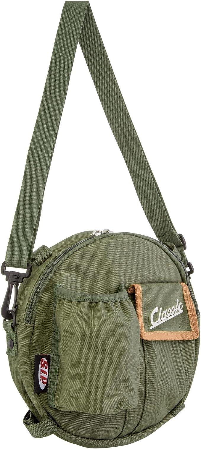 Tasche Sip Classic Für Reserverad 10 Felge Offen 8 Geschlossen Rund 24x5 Cm Canvas Olive Auto