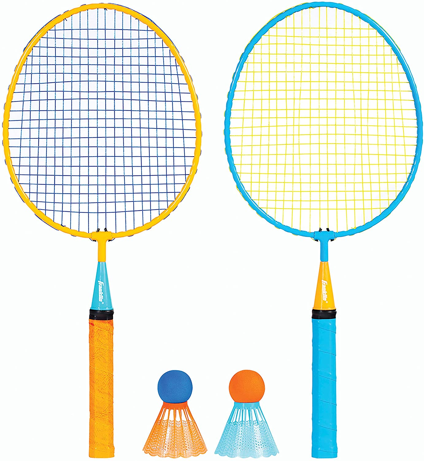 Franklin Sports Kids Badminton Set - Smashminton Set - 2 Player Youth Combo Set with Birdies : General Sporting Equipment : Sports & Outdoors