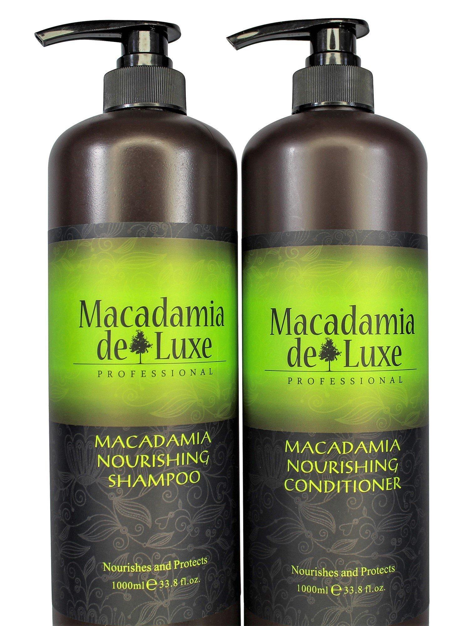 Amazon.com : Macadamia Deluxe Macadamia Oil Treatment 3.38